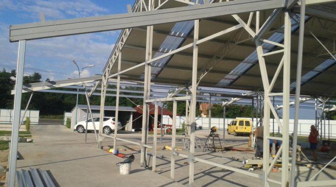 Csarnok építés – Mezőkovácsháza