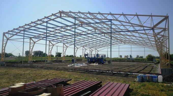 Csarnok építés – 2019 Július 28. – 25×40